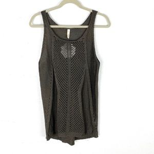 NWT Wishlist knit wool blend tank sweater top